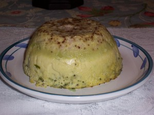 Asparagus Pudding