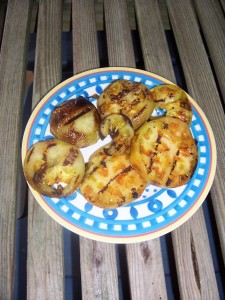 Grilled Green Tomatoes