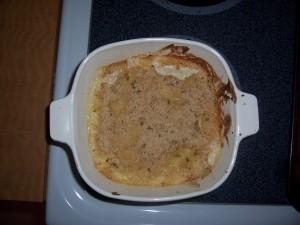 Cauliflower Au Graten