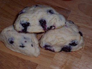 Fresh Blueberry Scones